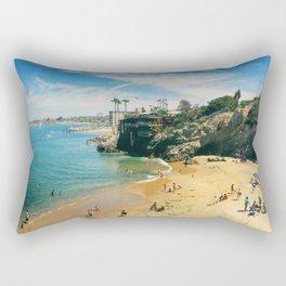 Playful Shores Rectangular Pillow