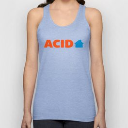 Acid House Music Quote Unisex Tank Top