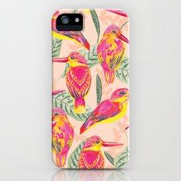PINK BIRDS iPhone Case