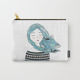 Whales in my hair Carry-All Pouch
