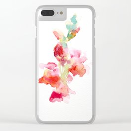 Snapdragon 2 Clear iPhone Case