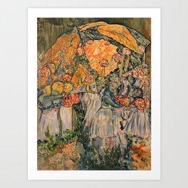 Corinne Duret ,artiste peintre Art Print