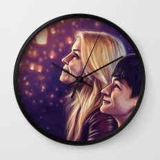 You Brought Me Home Wall Clock