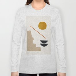 abstract minimal 6 Long Sleeve T-shirt