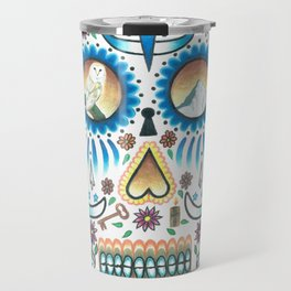 Pacific NW Skull Travel Mug