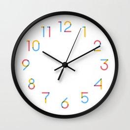 Modular Numbers: Theo Wall Clock