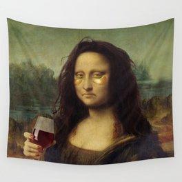 Drunk Lisa Wall Tapestry