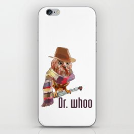 Dr. Who Owl iPhone Skin