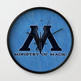 Ministry of Magic Wall Clock