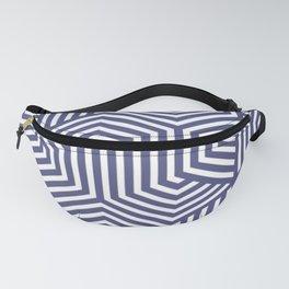 Purple navy- purple - Minimal Vector Seamless Pattern Fanny Pack