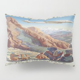 Vintage poster - Peru Pillow Sham