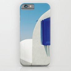Santorini Blue & White Window Slim Case iPhone 6s