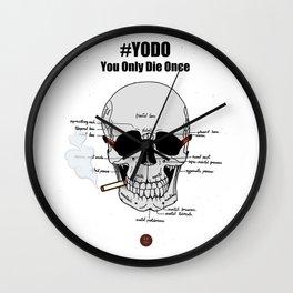 #YODO Wall Clock