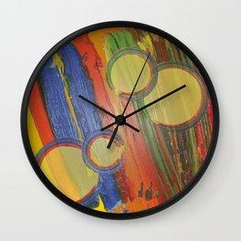 Lemon Twist Margarita Wall Clock