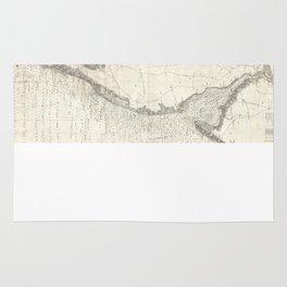 Vintage Map of The Chesapeake Bay (1893) Rug