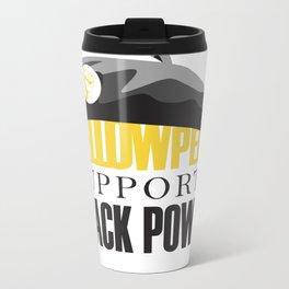 Yellow Peril Metal Travel Mug