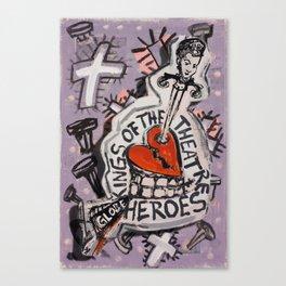 The Globe Heroes Canvas Print