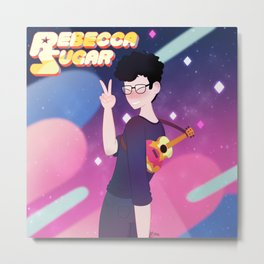 Rebecca Sugar Metal Print