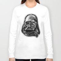 darth vader Long Sleeve T-shirts featuring Darth by Creadoorm