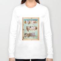 birds Long Sleeve T-shirts featuring Birds Birds Birds by Diogo Verissimo