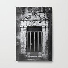 Doors of the World | Wooden Door in Rethymnon Crete, Greece, Europe III | Black & White | Travel Photography | Photo Print | Art Print Metal Print