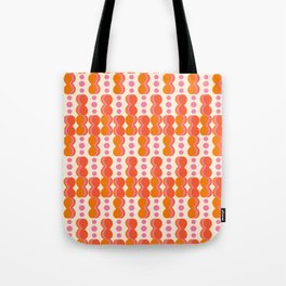 Uende Sixties - Geometric and bold retro shapes Tote Bag
