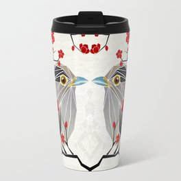 look at me my bird  Travel Mug