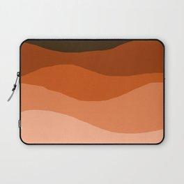 Choice - retro 70s style vibes sunset mountains desert ocean minimalist decor hipster 1970s Laptop Sleeve