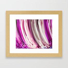 452 - Abstract Petals Design Framed Art Print