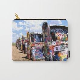 Where Old Cars Meet Art Carry-All Pouch