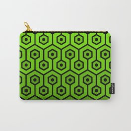 Geometric Design 1 (Lime) Carry-All Pouch