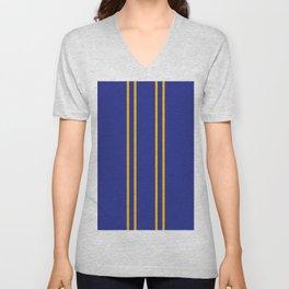 Chun Li Collant Stripes Unisex V-Neck