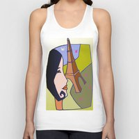 france Tank Tops featuring France by Karl-Heinz Lüpke