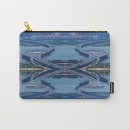 Across Roads Carry-All Pouch
