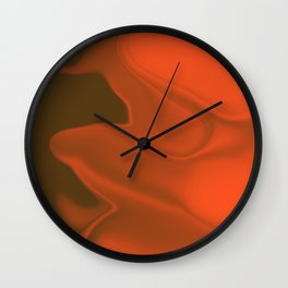 Holographic Nation Fire Wall Clock