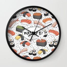 WASSAP B? Wall Clock
