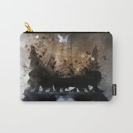 Piandemonium - Piano Rorschach Carry-All Pouch