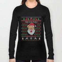 Pug Ugly Christmas Long Sleeve T-shirt