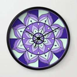 Mandala Maze Wall Clock
