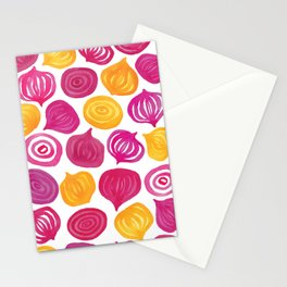 Spring Beet pattern Stationery Cards