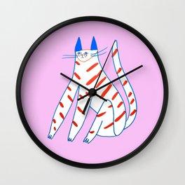 Kitty Bae Wall Clock