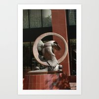 outdoor Art Prints featuring Outdoor by sannngat