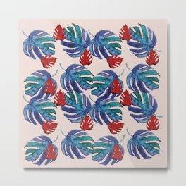 Blue Plants Metal Print
