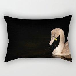 Young Swan Rectangular Pillow