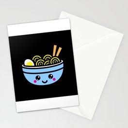 Kawaii Ramen Bowl Gift Idea Design Motif Stationery Cards
