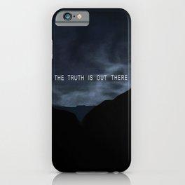 Truth. iPhone Case