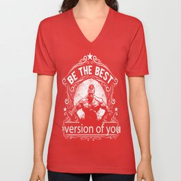 Be the best version of you Unisex V-Neck
