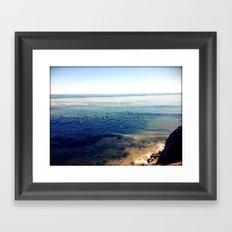 the hook Framed Art Print