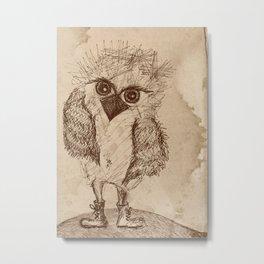 Tough Chick Metal Print