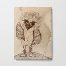 Tough Chick Metal Print